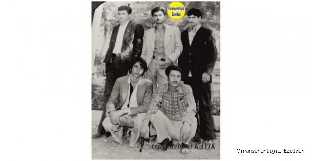 1975 Yılı Karacadağ Caddesi Esnaflarından olan, Abdülaziz Eşin, Bekir Oktay, Ramazan Beslenen, Ömer Sevce ve İğneci Cever Bozkoç