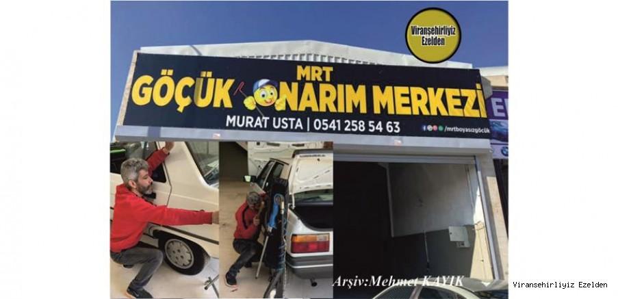 1992 Yılından Beri İzmit Körfez'de yaşayan Göçük Ustası Murat Gören, Şimdi Göçük Ustası olarak Viranşehir Yeni Sanayi Sitesinde Viranşehirlilere Hizmet edebilmek için Çalışmalarına Başladı