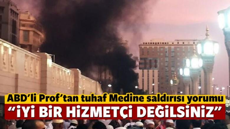 ABD'li tarihçiden Medine saldırısı yorumu