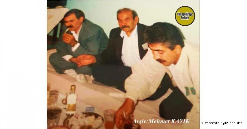 Almanya'da 05/10/2001 Günü Vefat etmiş, Kemal é Oso olarak tanınan Merhum Kemal Tabul, Şeyh Berkat(Bave Ali) ve Hamo Kaldırıcı