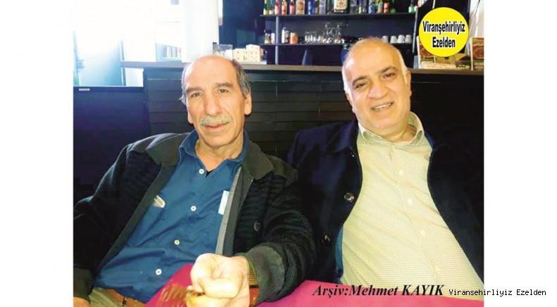Almanya'da yaşayan Abdurrahim Duygu ve Misafiri İlhan Yılnur