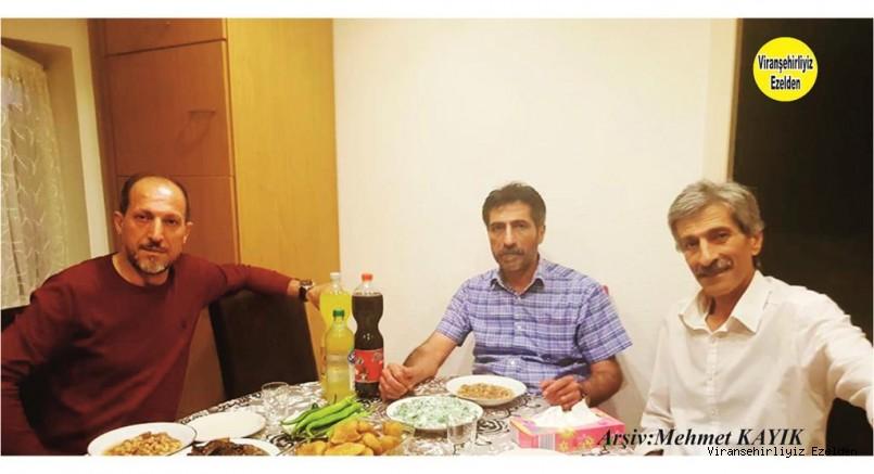 Almanya'da yaşayan Mehmet Seyrek, Kardeşi Musa Seyrek ve Yeğeni Halil Uçar