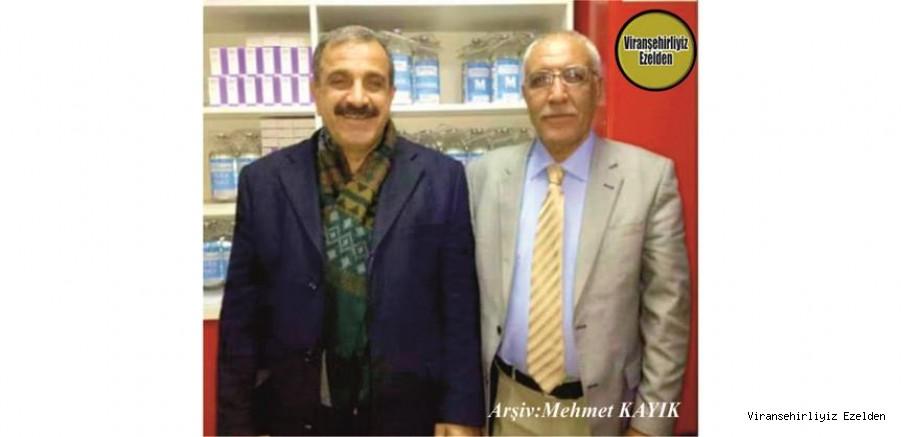 Ankara'da SGK Genel Müdürlüğü Bünyesinde Şef Olarak Görev yapan, Sevilen, Sayılan Beyefendi İnsan Şeyhmus Bayoğlu ve Arkadaşı Merhum Şeyhmus Göl