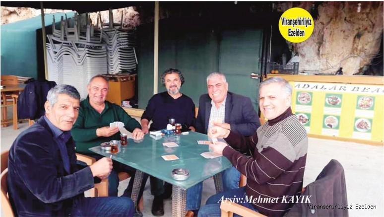 Antalya'da yaşayan, Memduh Bahçeli, Mehmet Erdemci Cuma Çay, Ahmet İnanç ve Arkadaşı