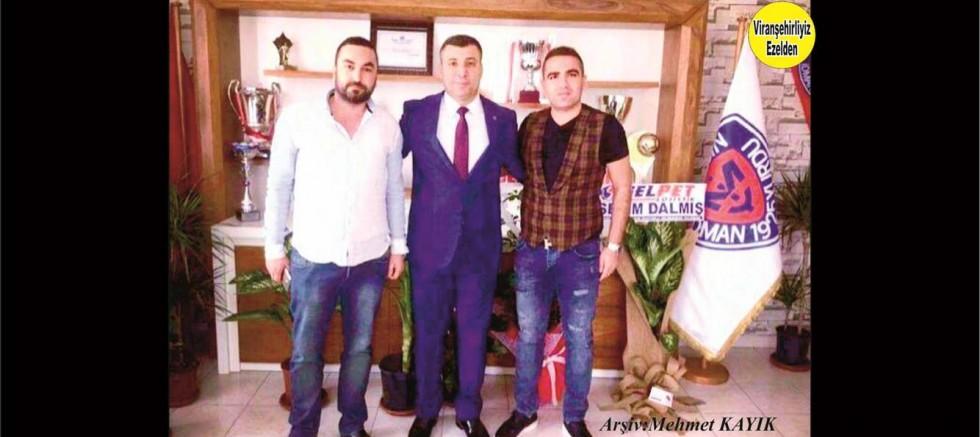 Fatih BABAÇ, Sedat TURGUT  ve Başkan Mahmut KARAK