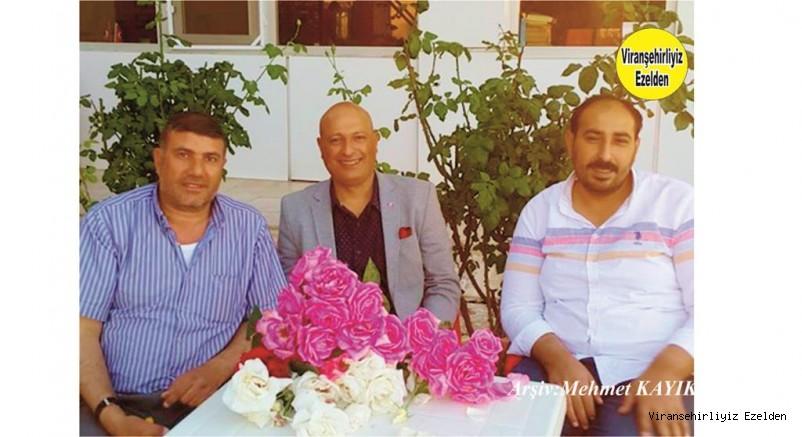 Hadi Diken, MHP Bodrum ilçe Başkanı Ömer Varan ve Arkadaşı