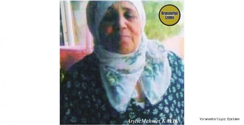 Hemşehrimiz 08 Ekim 2020 Günü Vefat etmiş, Değerli Annelerimizden olan, Merhume Zahra Pelen
