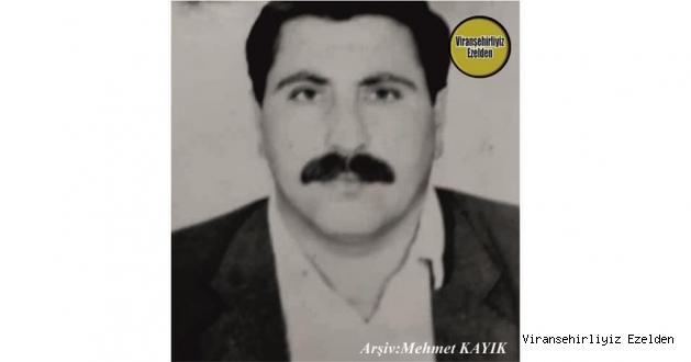 Hemşehrimiz 18 Ekim Ölüm Yıldönümü olan, Viranşehir Bahçelievler Mahallesinde Yıllarca Muhtar olarak Görev yapmış, Sevilen İnsan Merhum Şeyh Davut Ökmen