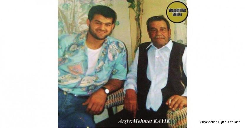 Hemşehrimiz 29 10 1994 Bugün Vefat Yıldönümü olan, Viranşehir'de Delal Rıfai olararak tanınan Sevilen İnsan, Merhum Rıfai Bahçeci ve Oğlu Mustafa Bahçeci