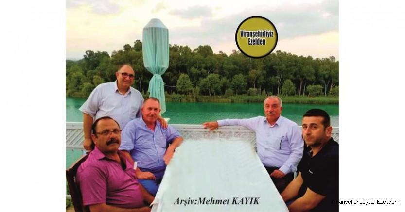 Hemşehrimiz Adana Yükselhan Hotel Sahibi Ali Yüksel, Viranşehir Ziraat Odası Başkanı Bahri Ekinci ve Arkadaşları