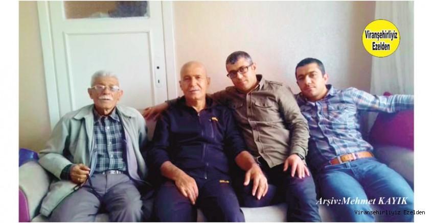 Hemşehrimiz Ahmet Müjde, Mustafa Karagöz, İskender Müjde ve Eyyüp Müjde
