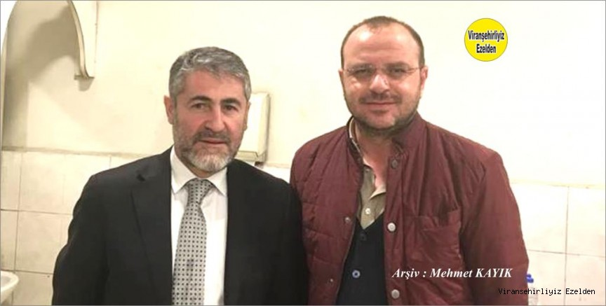 Hemşehrimiz Ali Çoğalan ve Maliye Bakan Yardımcısı Nureddin Nebati