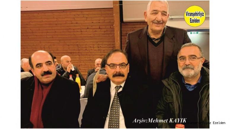 Hemşehrimiz Almanya'da yaşayan İbrahim Ortaç, Nureddin anyığ, Ferhan Özkan ve Arkadaşı
