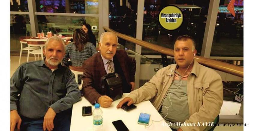 Hemşehrimiz Ankara'da yaşayan Değerli Öğretmenlerimizden, Mahmut Aydın, Kardeşleri Cuma Aydın ve Halil Aydın