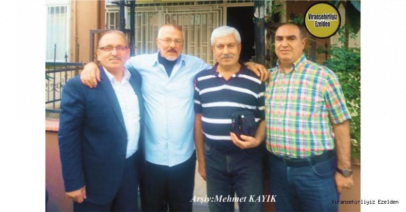 Hemşehrimiz Doktor Mustafa Vurgun, Halasıoğlu Mustafa Kılıç, Arkadaşları Mehmet Mahsum Kılınç ve Mehmet Kayık