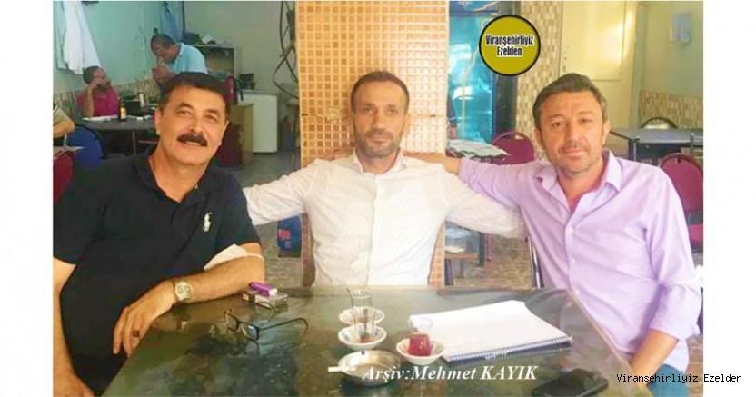 Hemşehrimiz Enver Naci Yolcu, Murat Belkıran(Emiroğlu) ve Eyyüp Karakurt