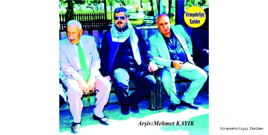 Hemşehrimiz Hacı Menduh(Top) Şehmusoğlu, İsmail Coşkun ve Siverekte İleri Gelen Bucak Ailesi Değerlerinden olan Fatih Bucak