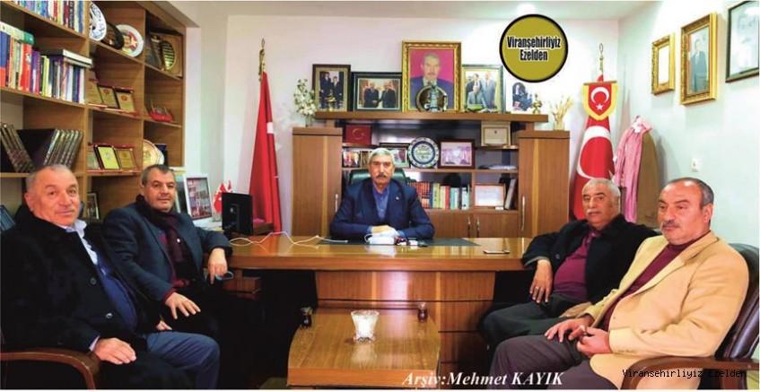 Hemşehrimiz Hasan Ayaz, Halil Şahin, Bahri Ekinci, Hamza Bayar ve Mehmet Ekinci
