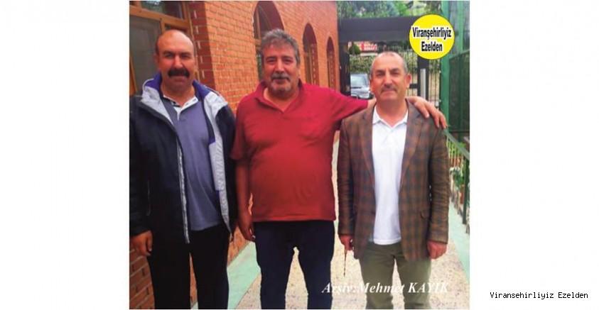 Hemşehrimiz İstanbul'da Yaşayan Hüseyin Bilici, Mehmet Coşkun ve Yurtdışında yaşayan Misafirleri Ahmet Can