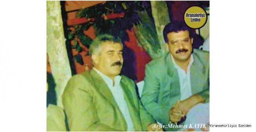 Hemşehrimiz İstanbul'da yaşayan, Mehmet Gündüz ve Arkadaşı Mehmet Necip Özer