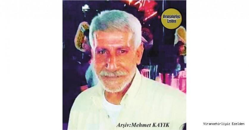Hemşehrimiz İzmir'de 02 Kasım 2020'de Vefat etmiş, Sevilen İnsan Merhum Sıraç Kaya