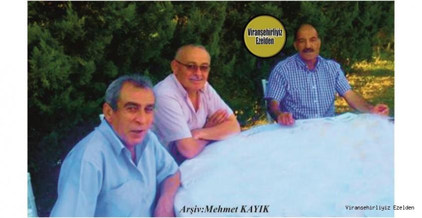 Hemşehrimiz İzmirde yaşayan Hilmi Uzun, Mehmet İnci ve Hamza Yartuğ