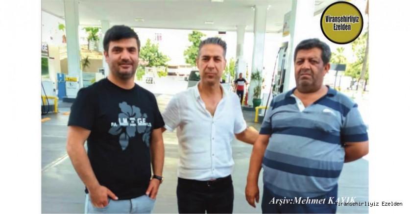 Hemşehrimiz Mersin'de Petrol İstasyonu İşleten, Yasin Gezgör, Arkadaşları İrfan Kapan ve Ömer Orman