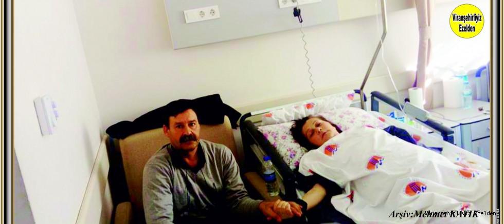 Hemşehrimiz Mustafa İNAN'ın Eşi Ameliyat Oldu