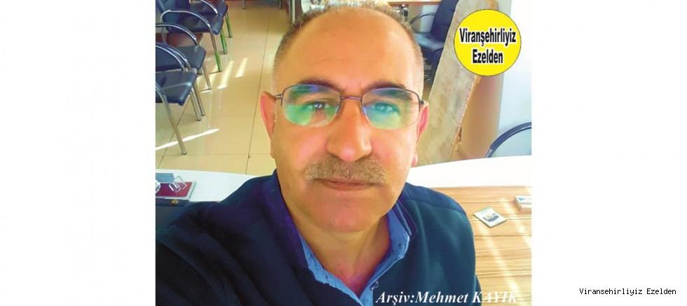 Hemşehrimiz Viranşehir Belediyesi Eski Personellerinden, Sakıp(Tiyesti) Yeşialağaç
