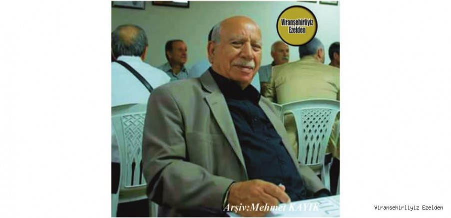 Hemşehrimiz Viranşehir Belediyesi İtfaiye Amiri olarak Yıllarca Görev yapmış, Mustafa Diken