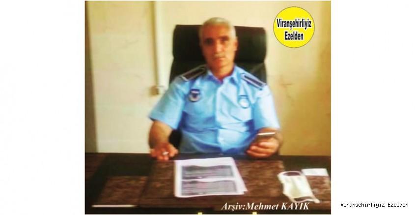 Hemşehrimiz Viranşehir Belediyesi Zabıta Amiri Yardımcısı Seyithan Çelik