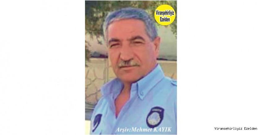 Hemşehrimiz Viranşehir Belediyesi Zabıta Müdürlüğü Personellerinden, Zabıta Memuru Mehmet Kanar