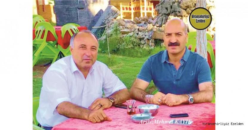 Hemşehrimiz Viranşehir Belediyesinde Yıllarca Birlikte Görev yapmış, Aziz yeter ve Vahit Yıldız