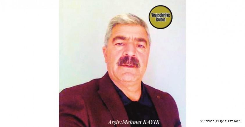 Hemşehrimiz Viranşehir Belediyesinde Yıllarca Görev Yapmış, şimdi İstanbul'da Yaşayan Ahmet Yargül