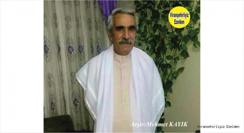 Hemşehrimiz Viranşehir Belediyesinde Yıllarca Görev yapmış, Yakın zamanda Vefat etmiş, Merhum Abdo Şeyhun
