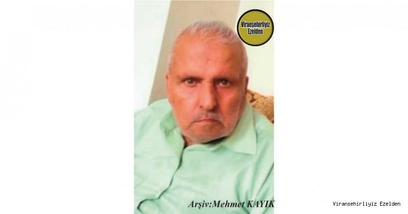 Hemşehrimiz Viranşehir'de 21 Kasım 2020 Günü Vefat etmiş, Eski Derik Caddesinde Yıllarca Esnaflık yapmış, Merhum Halit Olcay