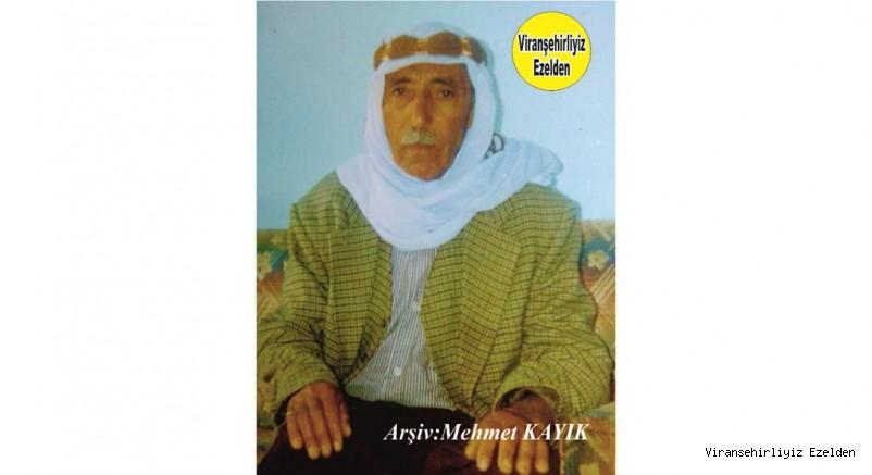 Hemşehrimiz Viranşehir'de Ape Sino olarak tanınan Değerli İnsan Çiftçi Merhum Sinan Gündüz