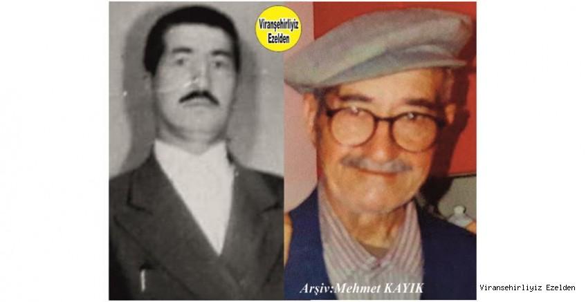 Hemşehrimiz Viranşehir'de Çavuş Emmi olarak tanınan, Sevilen Değerli İnsan Merhum Ahmet Cemil Durukan