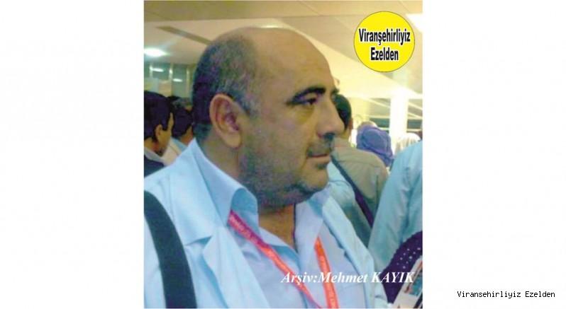 Hemşehrimiz Viranşehir'de Genç yaşta hayatını kaybeden Merhum Aziz Kaya