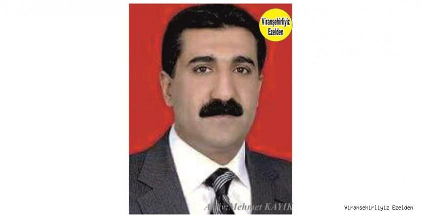 Hemşehrimiz Viranşehir'de Genç Yaşta Vefat etmiş, Sevilen İyi İnsan Merhum Kadir Yazmacı