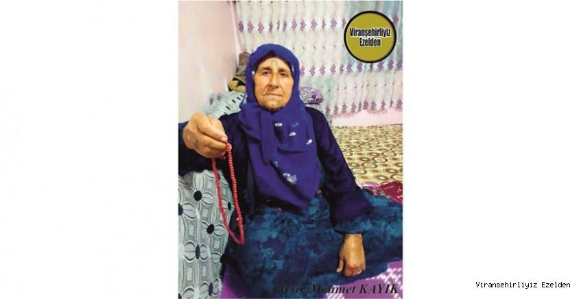 Hemşehrimiz Viranşehir'de Hacı Fasla Ana olarak Tanınan Değerli Annelerimizden olan, Merhume Hacı Fasla Korak