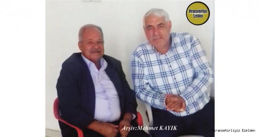 Hemşehrimiz Viranşehir'de Kebapçılık Sektöründe Yıllarca Esnaflık yapmış, Mehmet Şavlı ve Suphi Topkan