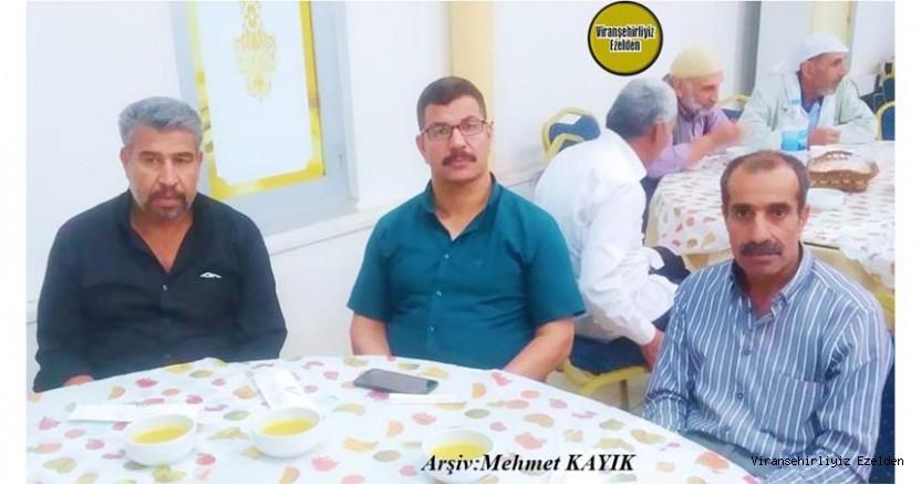 Hemşehrimiz Viranşehir'de Sevilen Çiftçilerimizden, Ahmet Baği, Ali Demir ve Mahmut Men