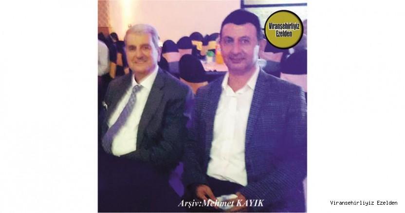 Hemşehrimiz Viranşehir'de Sevilen Değerlerimizden olan, Ahmet Tekiner ve Yeğeni Sevilen İnsan Faruk Çakar