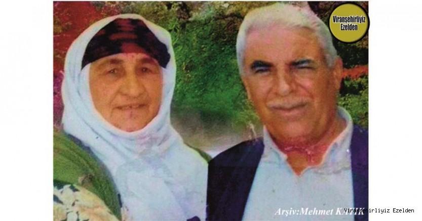 Hemşehrimiz Viranşehir'de Sevilen Değerlerimizden olan, Merhum Halef Etrez(Halefê Sadık) ve Eşi Merhume İdê Etrez