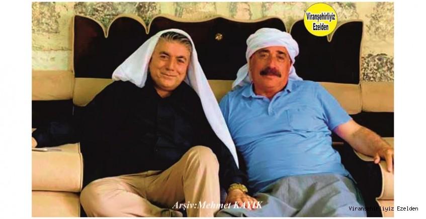 Hemşehrimiz Viranşehir'de Sevilen Değerlerimizden olan, İsa Misafirci ve Misafiri Adana'da Yaşayan Mehmet Kapan
