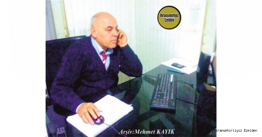 Hemşehrimiz Viranşehir'de Şoförlük Sektöründe Yıllarca Esnaflık yapmış, şimdi İzmir'de yaşayan Sevilen, İnsan İsa Kıran