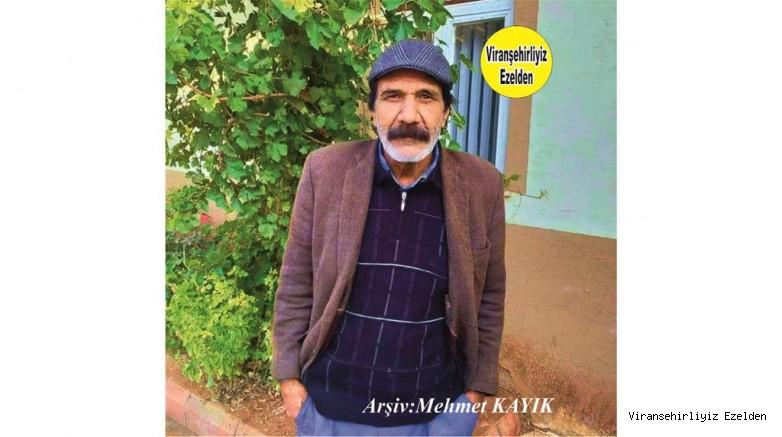 Hemşehrimiz Viranşehir'de Şoförlük Sektöründe Yıllarca Esnaflık yapmış, Abdulkadir Caymak