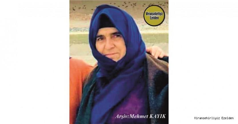 Hemşehrimiz Viranşehir'de Vefat etmiş, Değerli Annelerimizden olan, Sevilen İnsan Merhume Fatma Öztürk