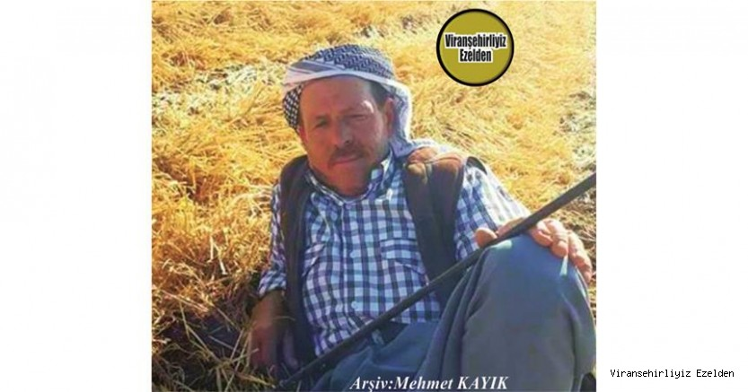 Hemşehrimiz Viranşehir'de Yakın zamanda Trafik Kazası Sonucunda vefat etmiş, Merhum Sino Babaç